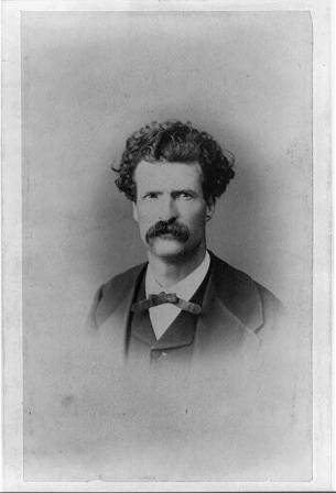LOC_Mark Twain _ 1867 (right around time he comes to DC)