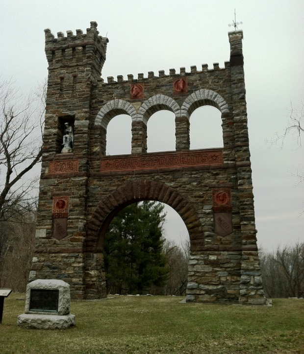 Civil War Correspondent's Memorial Arch, Gathland, MD