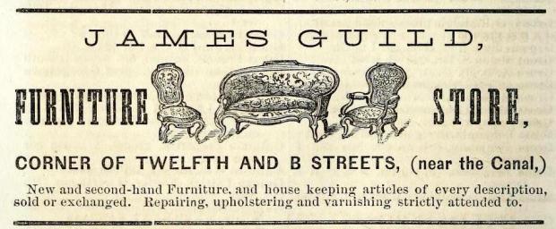 boydsdirectoryof1867wash_p. 294 _ James Guild _ Furniture Store