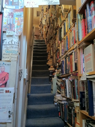 Capitol Hill Books _ stairs to 2nd floor