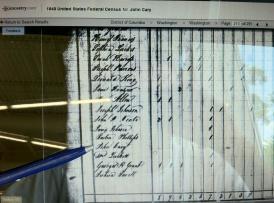 1840 US Fed Census _ DC _ John Cary _ p. 213