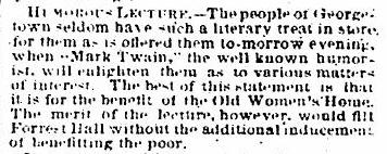 ES_1868.2.21_pg. 4 _ Humorous Lecture in GTown _ Benfit the poor0001