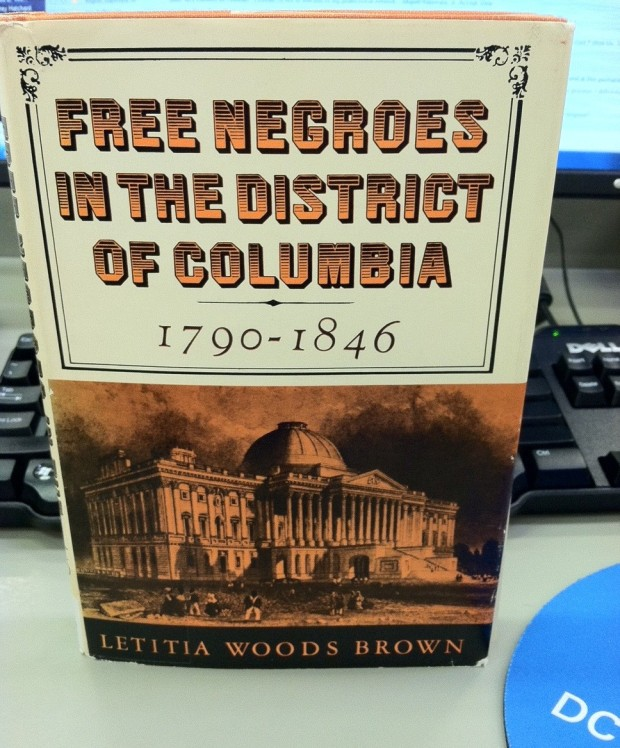 Free Negroes in the District of Columbia