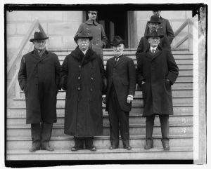 LOC _ Champ Clark, W.H. Taft, Jos. G. Cannon, Ex. Gov. Samuel W. McCall