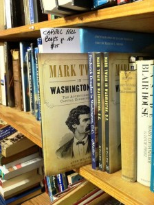 Twain in D.C. at Capitol Hill Books